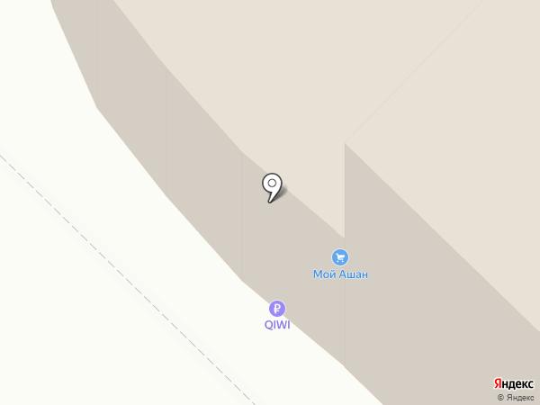 Система GSM на карте Московского