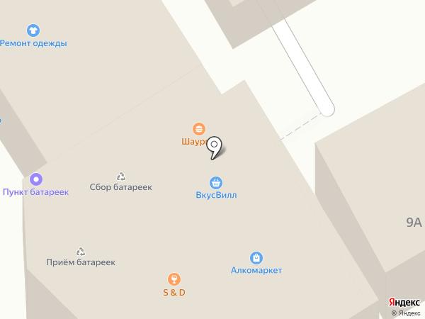 Карась на карте Новоивановского