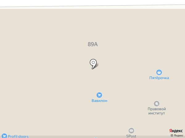 ЗаДиванье на карте Анапы