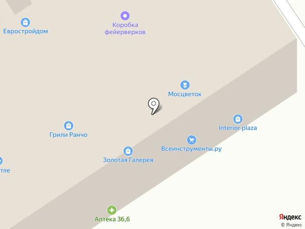ОлимпПаркета на карте Новоивановского