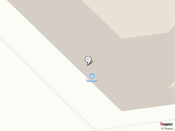 Элекснет на карте Московского