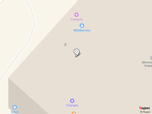 Аленка на карте Москвы