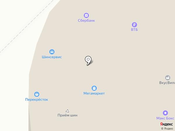Остров витаминов на карте Московского