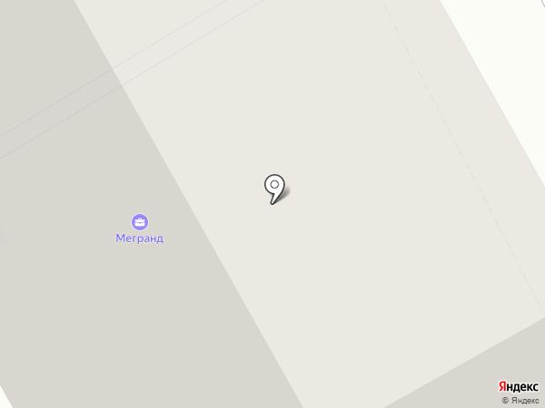 ЮГ на карте Новоивановского