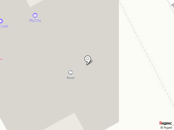 Комфорт на карте Новоивановского