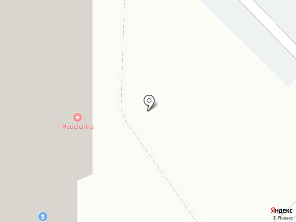 Пряник на карте Московского