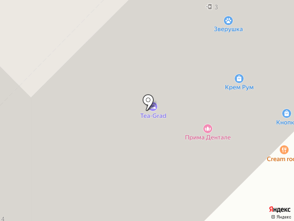 Агросоюз Любава на карте Московского