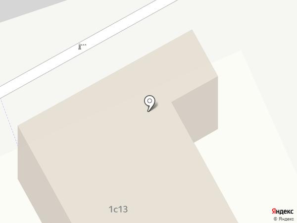 Ихтис на карте Новоивановского