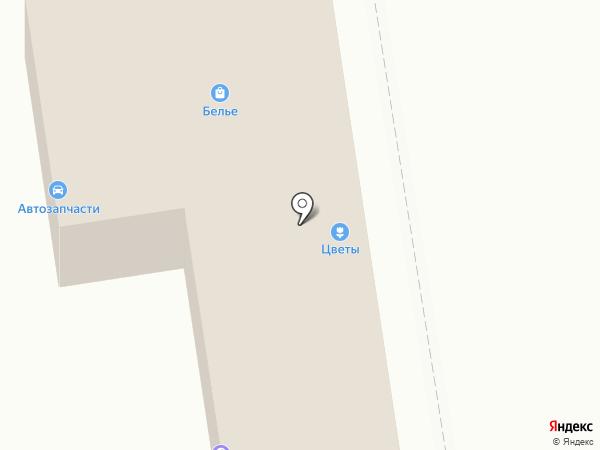 Магазин автотоваров на карте Красногорска