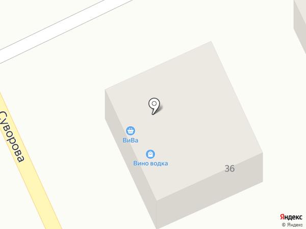 Анчар на карте Анапы