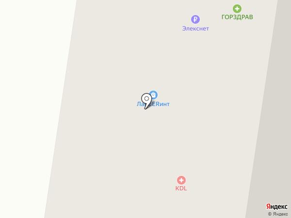 Сано-Терра на карте Красногорска