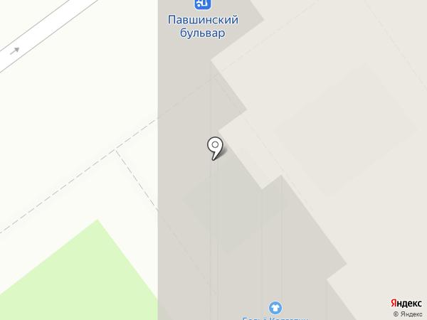 Пиццетория на карте Красногорска