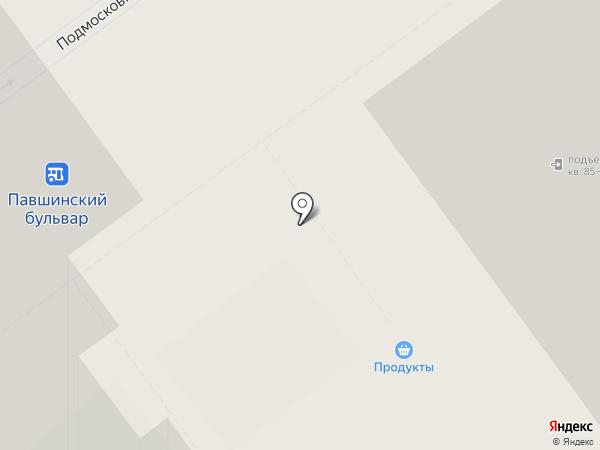 Александра на карте Красногорска