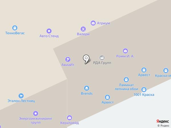 СПИ-Групп на карте Москвы