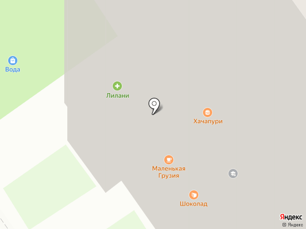 Красотка на карте Красногорска