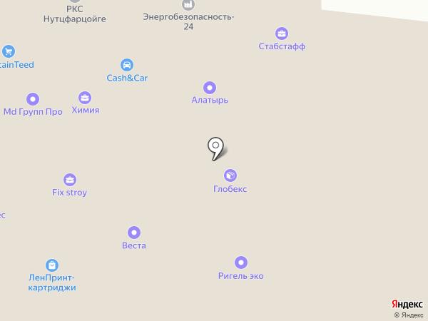 Сферон на карте Москвы