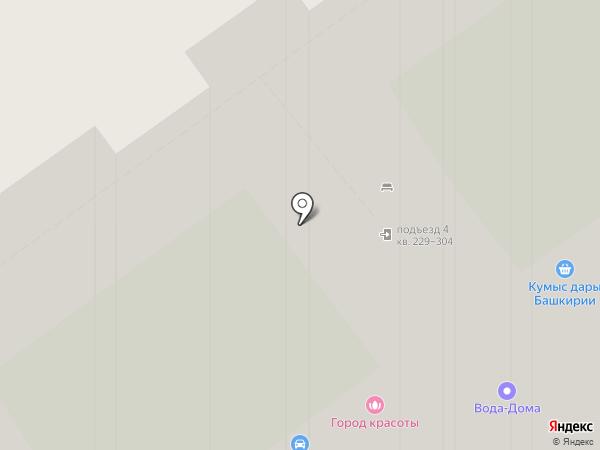 Город красоты на карте Красногорска