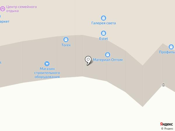 Аль декор на карте Новоивановского