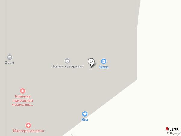Чистофф на карте Красногорска