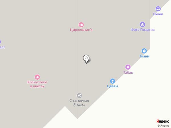 Золотая Корона на карте Московского