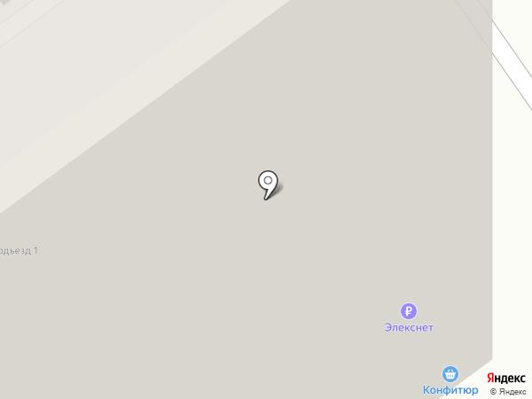 Конфитюр на карте Красногорска