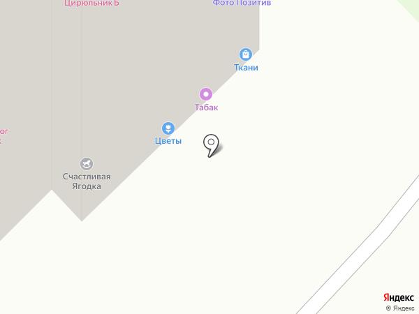 Медовая лавка на карте Московского