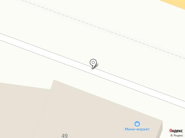 Сигма на карте Анапы