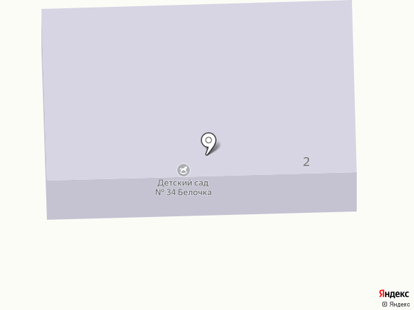 Детский сад №34 на карте Анапы