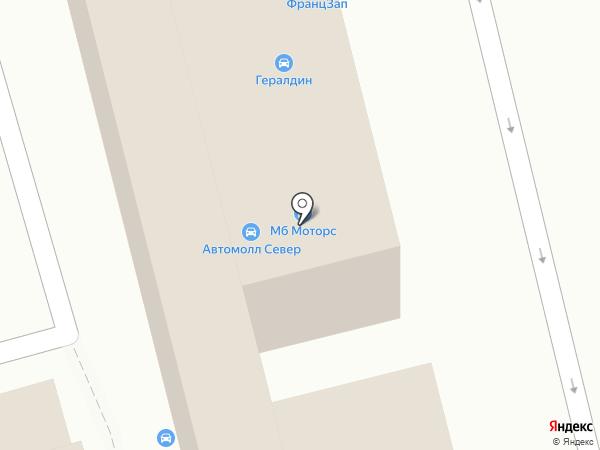 Авточехлы на карте Москвы
