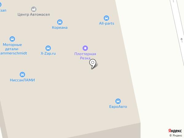 МАСТАК на карте Москвы