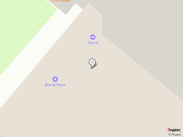 АвтоДок на карте Москвы