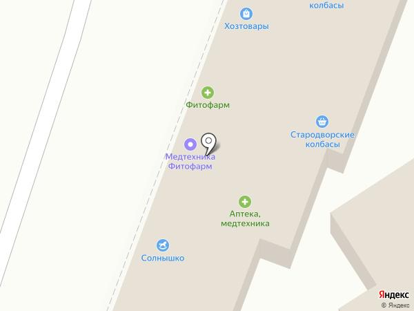 Букет на карте Анапы