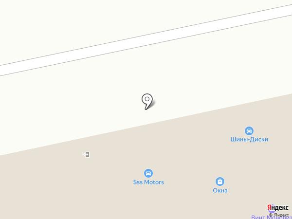 М-1 на карте Москвы