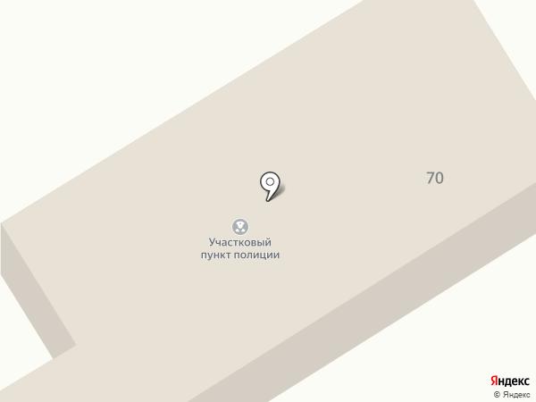 Анапский поселковый пункт полиции на карте Анапы