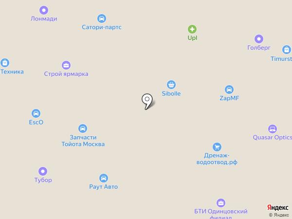 СтройДом на карте Новоивановского