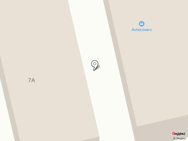 Магазин спецодежды на карте Москвы