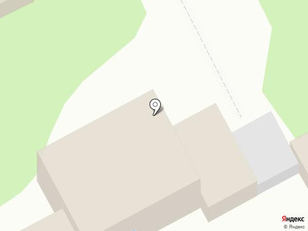 Пирс на карте Анапы
