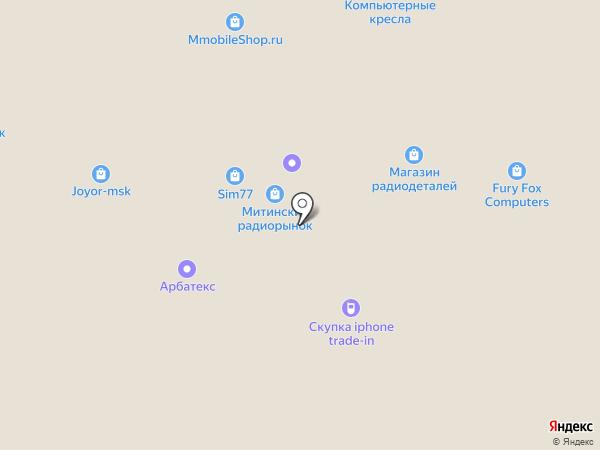 Tehno-Store на карте Москвы