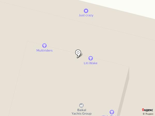 HeliExpress на карте Москвы