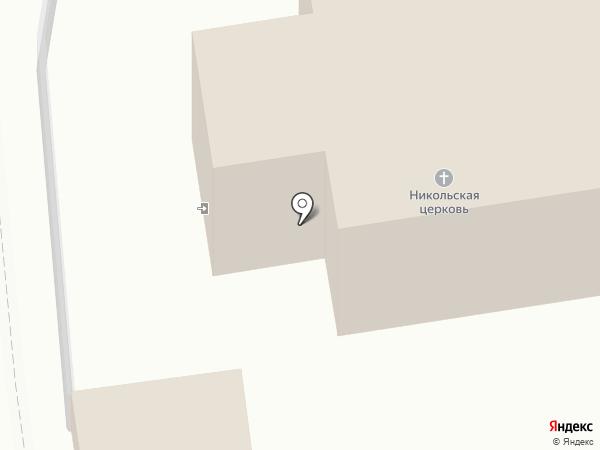 Церковная лавка на карте Озерецкого