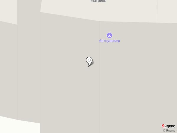 Автоунивер на карте Москвы