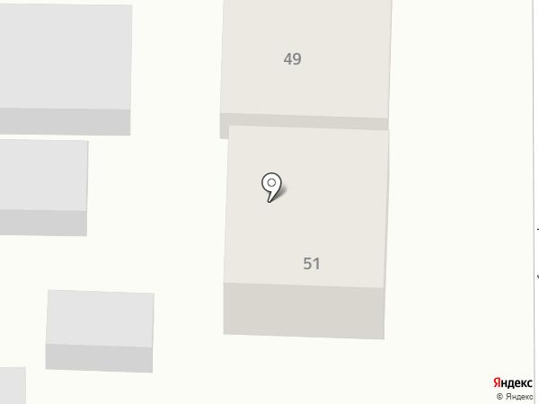 Анапафармация на карте Анапы