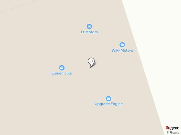 Гема Моторс на карте Новоивановского
