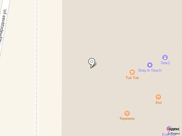 Хинкальная на карте Красногорска