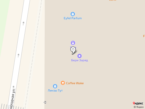 Accent на карте Красногорска