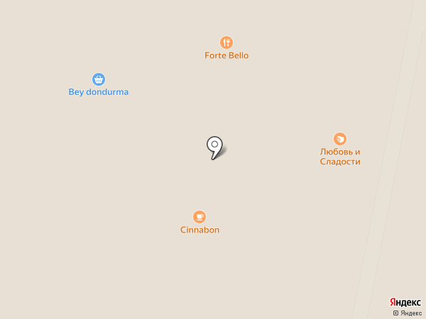 Forte Bello на карте Красногорска