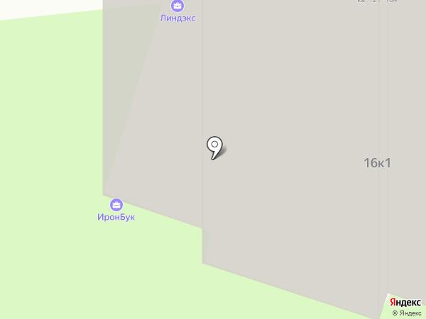 ИронБук на карте Москвы