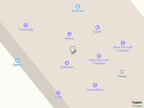 Garden Lounge на карте Москвы