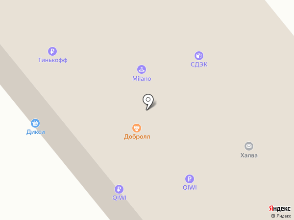 Мир обуви на карте Москвы