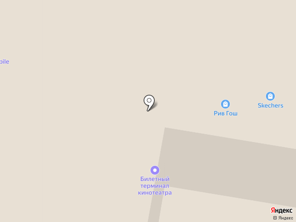 Рив Гош на карте Красногорска
